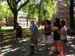 Our traditional beginning-of-the-year public singing on Old Campus