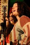 Sarah Larsson sings with the Chorus