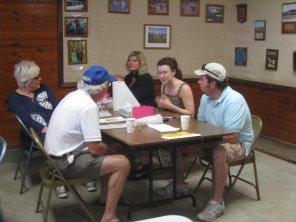 Sarah meets some local folks