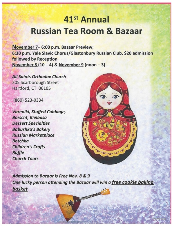 ASOC Russian Tea Room and Bazaar 2014